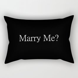 Marry Me? Proposal Tools Rectangular Pillow