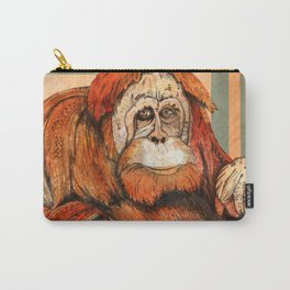 Mr. Orangutan Carry-All Pouch