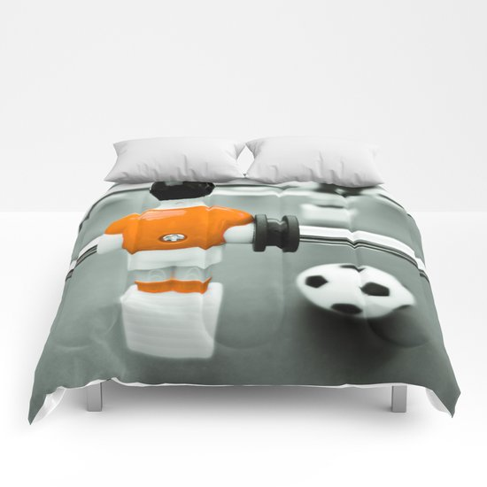 Table Football 02B - Defender | Orange Comforters