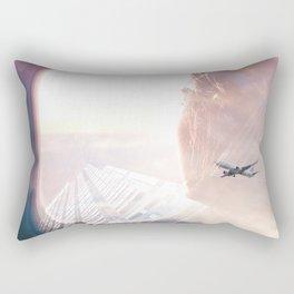 In the plane Rectangular Pillow