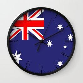 Flag of Australia Wall Clock