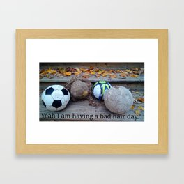 You Made My Day Framed Art Print
