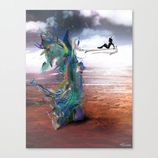 Tissin:nt Canvas Print