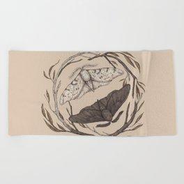 Peppered Moths Beach Towel