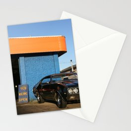 Green Chevelle Stationery Cards