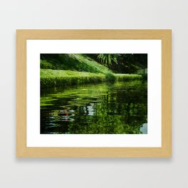 River Reflections Framed Art Print