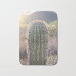 Backlit Cactus Bath Mat