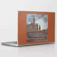 college Laptop & iPad Skins featuring Crouse College, Syracuse University by Ken Coleman