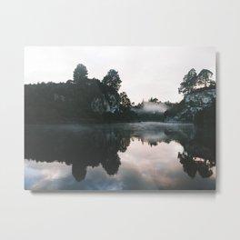 Waikato River II Metal Print