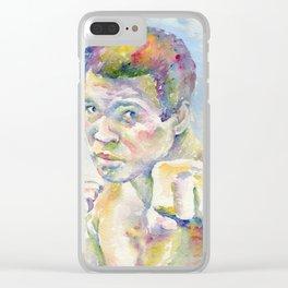 Ali Clear iPhone Case