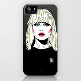 Blondie iPhone Case