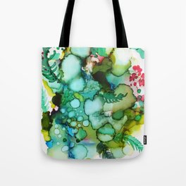 Cactus Waves Tote Bag