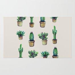 cactus collab franciscomff Rug