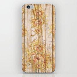 Vintage Sunflowers #9 iPhone Skin