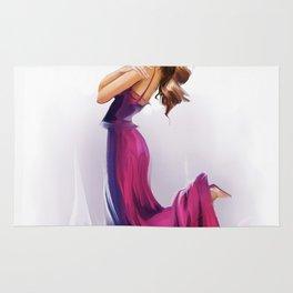 dancing ballerina1 Rug