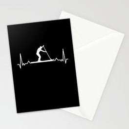 Paddleboarding Gift for Paddle Boarder Stationery Cards