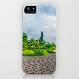 Luo han song tree landscpae iPhone Case