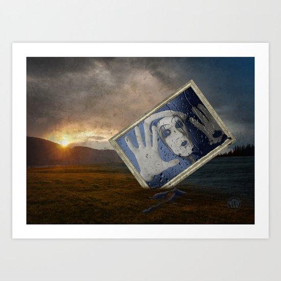 goodbye blue monday Art Print