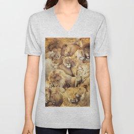 Lions Unisex V-Neck