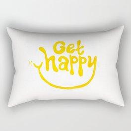 Get Happy! Rectangular Pillow