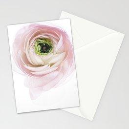Pink Ranunculus Flower I Stationery Cards