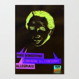 Mike è un bene di consumo Canvas Print
