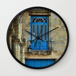 Cuba architecture Wall Clock