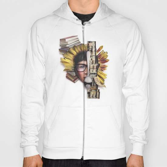 Timber | Collage Hoody