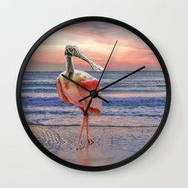 Beachcombing Wall Clock