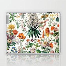 Adolphe Millot - Fleurs B - French vintage poster Laptop & iPad Skin