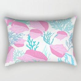 Conch n Coral Rectangular Pillow
