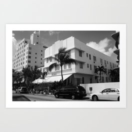 Miami Beach - Art Deco 2003 Art Print