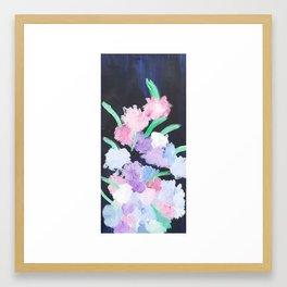 Night Bouquet Framed Art Print