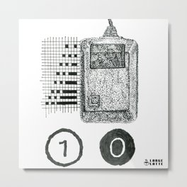 Mouse Tracking Apple Mac Tribute Metal Print