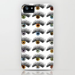 Hypnotic Eyes iPhone Case