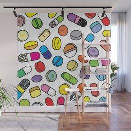 Drugs N More Pills Wall Mural