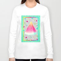 watermelon Long Sleeve T-shirts featuring Watermelon by Danny Ivan