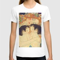 klimt T-shirts featuring Mi versión de Klimt by MW. [by Mathius Wilder]