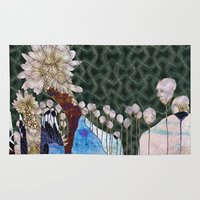 dragon age Area & Throw Rugs featuring Age by Nina Schulze Illustration
