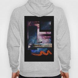 Space Print Hoody