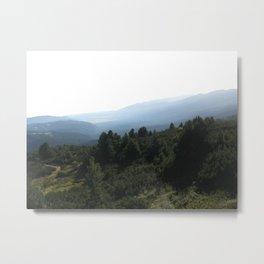 bulgarian mountain rila Metal Print
