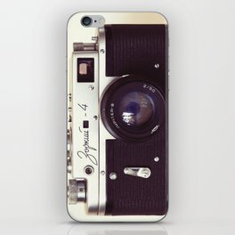 Zorki vintage camera iPhone Skin