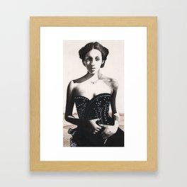 woman Donagico Framed Art Print