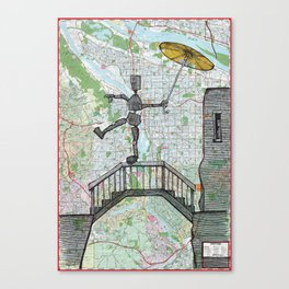 Portland, Oregon Canvas Print