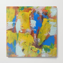 Abstract Expression #8 by Michael Moffa Metal Print