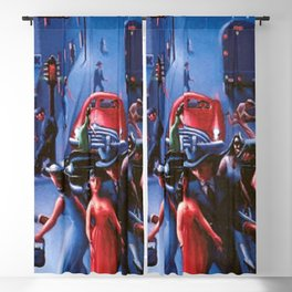Bronzeville at Night by Archibald Motley Blackout Curtain