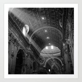 St. Peters After Mass Art Print