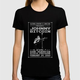 Johnny Bitcoin Live! T-shirt