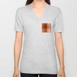 Monochromatic Orange Unisex V-Neck