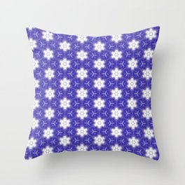 Purple Passion Pattern 10 Throw Pillow